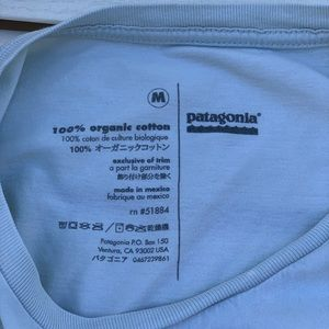 Patagonia Shirts - Patagonia Fish Logo T-Shirt Mens Medium